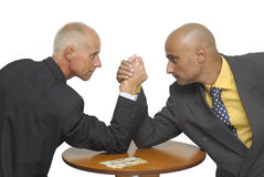 Arm wrestling Stock Image