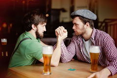 Arm-wrestling Royalty Free Stock Image