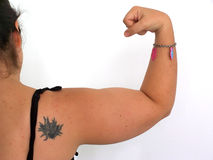 Arm2. Arm with tattoo Royalty Free Stock Images