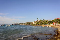 Armação beach. In city of Buzios, Rio de Janeiro Royalty Free Stock Photos