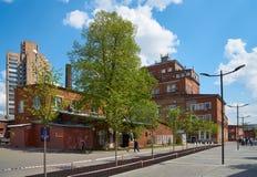 Arma工厂在莫斯科 免版税库存照片