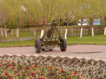 Arma antiaéreo Imagen de archivo libre de regalías