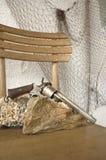 Arma antiguo Foto de archivo libre de regalías