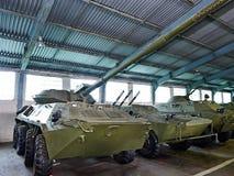 Arma antitanques 85m m automotor experimental 2S14 Fotografía de archivo libre de regalías