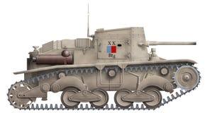 Arma automotor de Ansaldo ilustración del vector