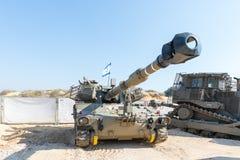 Arma automotor de la artillería que consiste en el armamento del ejército en el ` de la exposición del ejército nuestro ` de la C imagenes de archivo