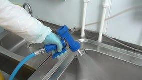 Arma azul da limpeza filme