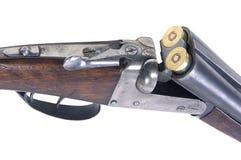 Arma caricata Fotografia Stock Libera da Diritti