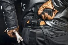 Arma celata Fotografie Stock