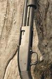 arma Concetto del fucile da caccia Fucile da caccia nero Immagine Stock