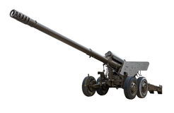 Arma da artilharia Fotografia de Stock Royalty Free