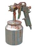 Arma de aerosol Imágenes de archivo libres de regalías