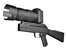 Arma de cámara Foto de archivo libre de regalías