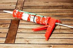 Arma de calafetagem Foto de Stock Royalty Free