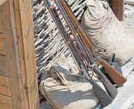 Arma de fogo da carga de três focinhos Foto de Stock