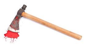 Arma de la escena del crimen Foto de archivo