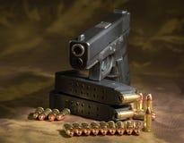 Arma de la mano Imagen de archivo libre de regalías