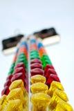 Arma de la tapa de la feria de diversión de Sri Pertaling Fotografía de archivo