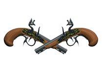 Arma de los piratas Fotos de archivo libres de regalías
