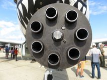 Arma de 30M M Gatling Foto de archivo