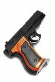 Arma de mano aislada Imagen de archivo libre de regalías