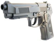 Arma de mano aislada en blanco Foto de archivo libre de regalías