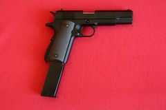 Arma de mano de Airsoft Fotos de archivo libres de regalías
