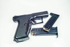 arma de mano de 9 milímetros Foto de archivo libre de regalías