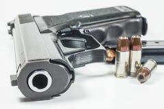 arma de mano de 9 milímetros Imagenes de archivo