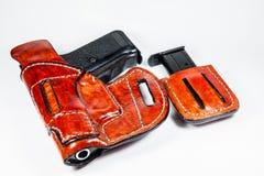 arma de mano de 9 milímetros Imágenes de archivo libres de regalías
