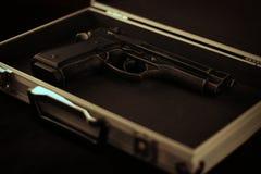 arma de mano de los 9MM Imagen de archivo libre de regalías
