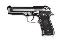 Arma de mano moderna del ejército americano M9. Imagen de archivo libre de regalías