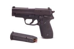 Arma de mano semiautomática Foto de archivo