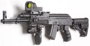 Arma de Mashine Imagen de archivo