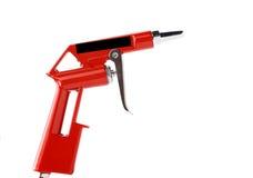 Arma de pulverizador isolada sobre um fundo branco Fotografia de Stock Royalty Free
