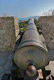 Arma de vila do dalt de Ibiza Fotografia de Stock