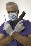 Arma del doc. fotos de archivo