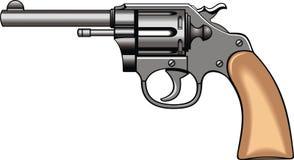 Arma del gato viejo (pistola) ilustración del vector