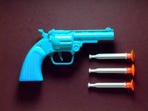 Arma del juguete Imagenes de archivo