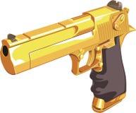 Arma del oro Imagen de archivo libre de regalías