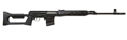 Arma del rifle de francotirador de Dragunov Imagenes de archivo