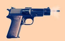 Arma del Shooting Fotos de archivo libres de regalías