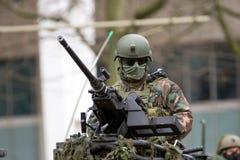 Arma del soldado Imagenes de archivo