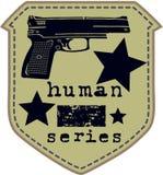 Arma della pistola Fotografia Stock