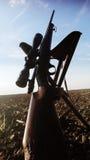 Arma do rifle dos caçadores Fotos de Stock
