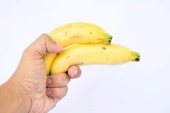 Arma dobro da banana Imagem de Stock Royalty Free