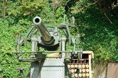 Arma dos aviões da segunda guerra mundial anti Imagem de Stock