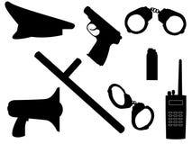 Arma e equipamento ilustração royalty free