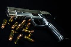 Arma e munição Foto de Stock