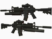 Arma M4 Imágenes de archivo libres de regalías